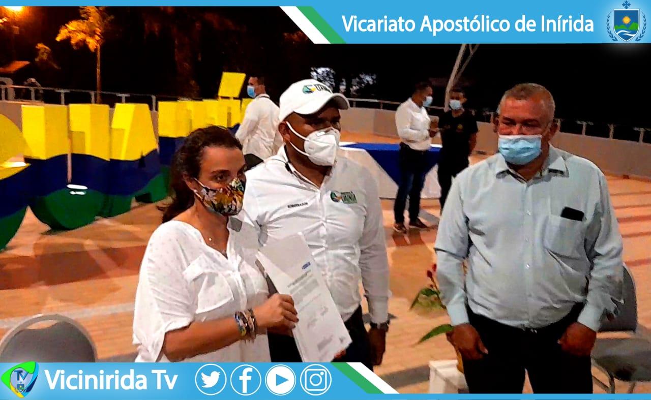 MINISTRA DE LAS TIC VISITA EL GUAINIA